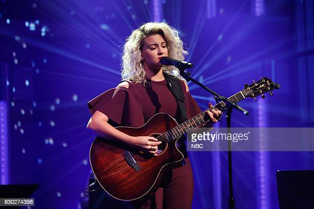 Musical guest Tori Kelly performs on December 19 2016
