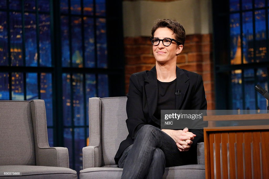 "NBC's ""Late Night With Seth Meyers"" With Guests Rachel Maddow, Kelly Osbourn"