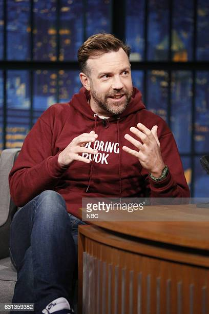 Actor Jason Sudeikis during an interview on January 9 2016