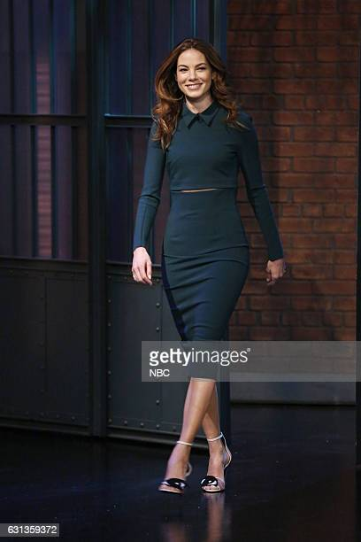 Actress Michelle Monaghan arrives on January 9 2016