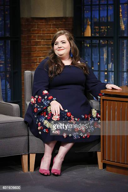 Actress Aidy Bryant during an interview on January 17 2017