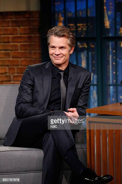 Actor Timothy Olyphant during an interview on January 26 2017