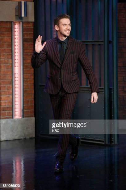 Actor Dan Stevens arrives on February 6 2017