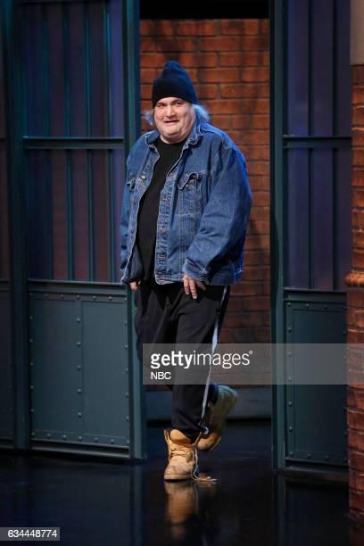 Comedian Artie Lange arrives on February 9 2017