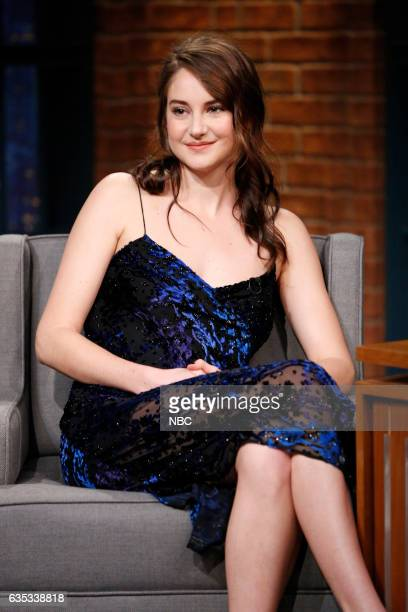 Actress Shailene Woodley during an interview on February 14 2017