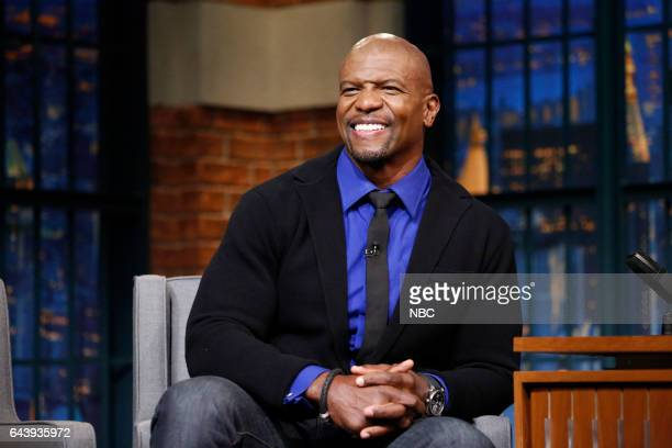 Actor Terry Crews on February 22 2017