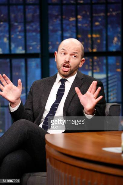 Comedian Paul Scheer during an interview on February 23 2017