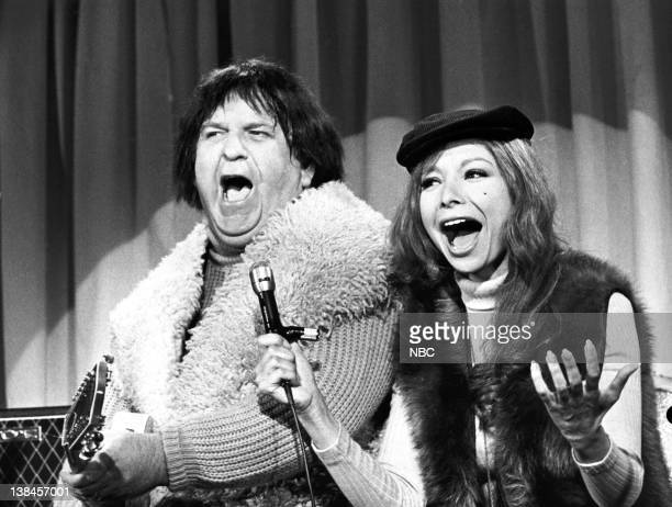 THE MONKEES Episode 5 Aired 10/10/66 Pictured Jacques Aubuchon as Boris and Arlene Martel as Madame Olinsky