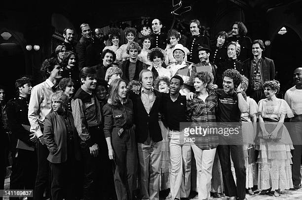 Episode 5 -- Pictured: Charles Rocket, Denny Dillon, Patrick Weathers, Yvonne Hudson, Gail Matthius, David Carradine, Eddie Murphy, Ann Risley, Joe...