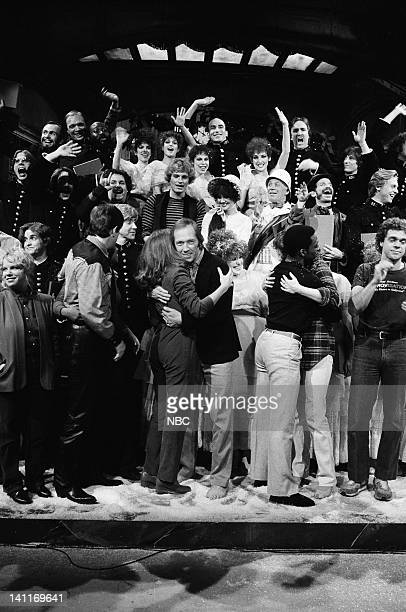 Episode 5 -- Pictured: Denny Dillon, Patrick Weathers, Yvonne Hudson, Gail Matthius, David Carradine, Eddie Murphy, Ann Risley, Joe Piscopo, Cast of...