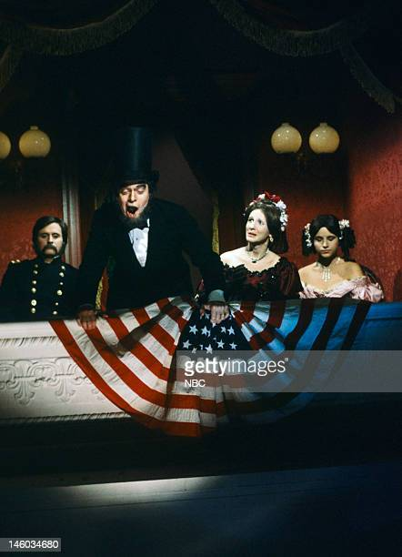 Gary Kroeger as soldier Joe Piscopo as Abraham Lincoln Mary Gross as Mary Todd Lincoln Julia LouisDreyfus as daughter during History The Real Story...