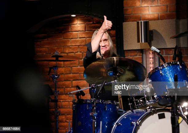 Iron Maiden drummer Nicko McBrain sits in with The 8G Band on March 14 2017