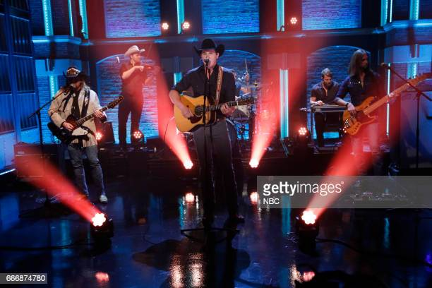 Musical guest Jon Pardi performs on March 14 2017