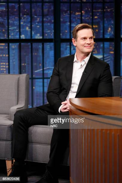 Actor Peter Krause during an interview on March 15 2017