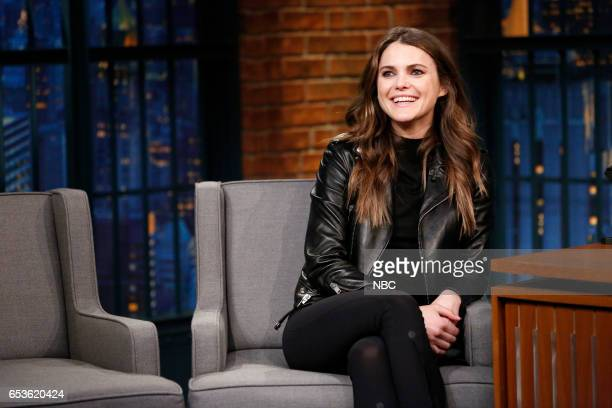 Actress Keri Russell during an interview on March 15 2017