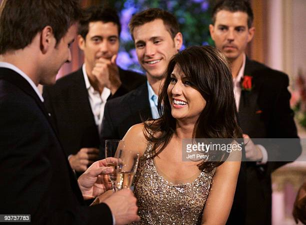 BACHELORETTE Episode 504 At the dramatic cocktail party Jillian is in for some stunning news One bachelor reveals that some of the guys may have...
