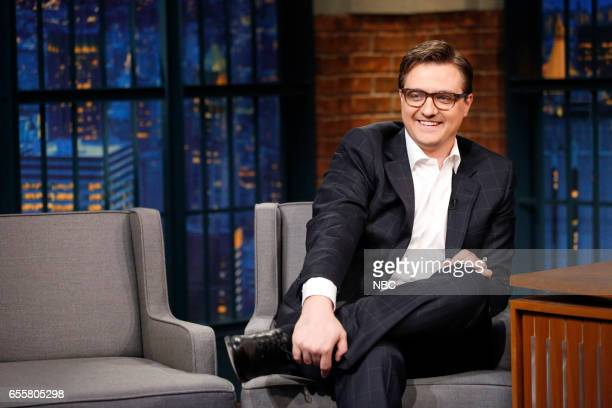 Chris Hayes during an interview on March 20 2017
