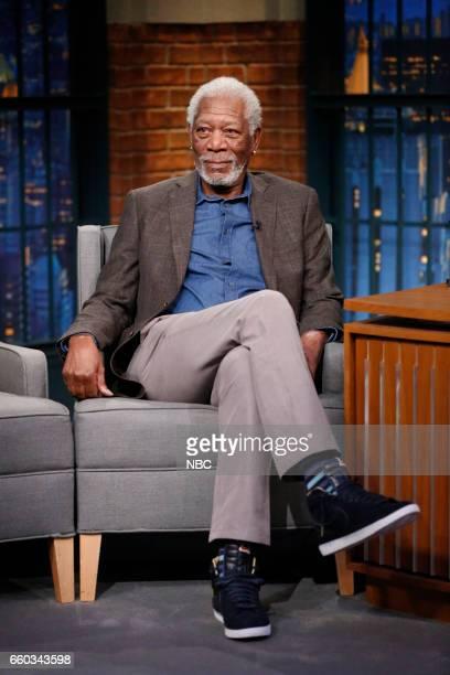 Actor Morgan Freeman on March 29 2017