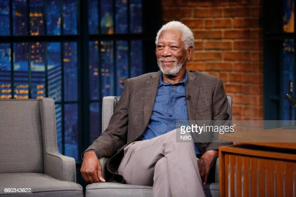 Actor Morgan Freeman on March 29 2017