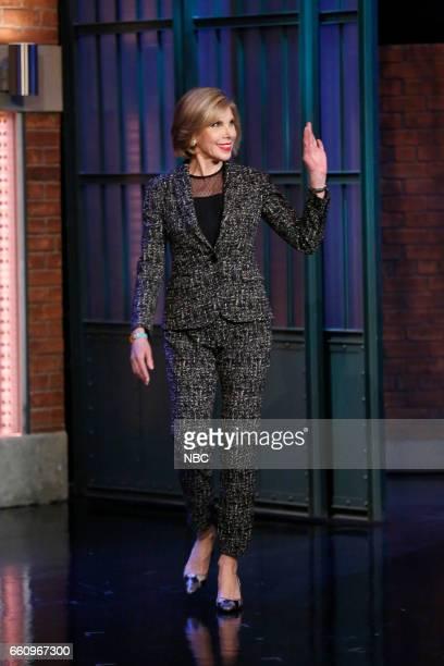 Actress Christine Baranski arrives on March 30 2017