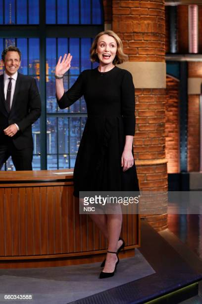 Actress Keeley Hawes arrives on March 29 2017