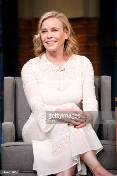 Comedian Chelsea Handler on April 3 2017