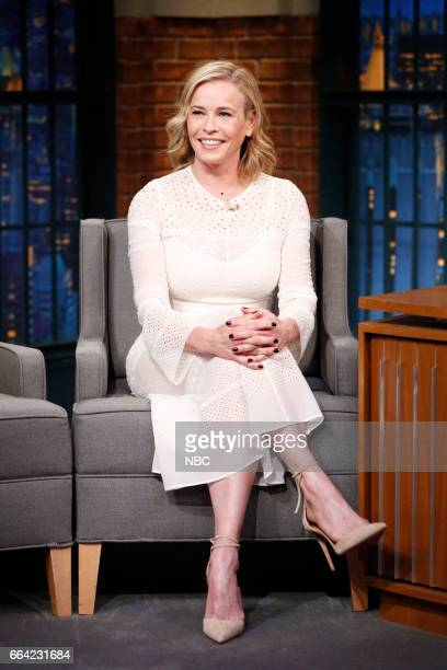 Episode 512 -- Pictured: Comedian Chelsea Handler on April 3, 2017 --