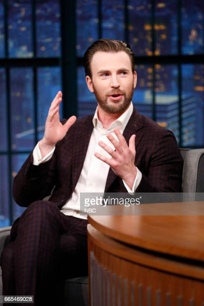 Actor Chris Evans during an interview on April 5 2017