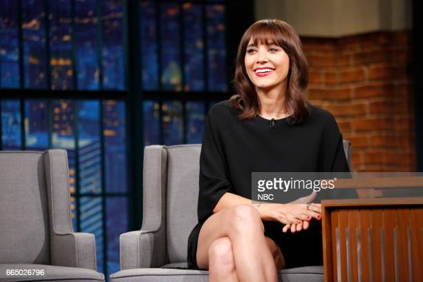 Actress Rashida Jones during an interview on April 5 2017