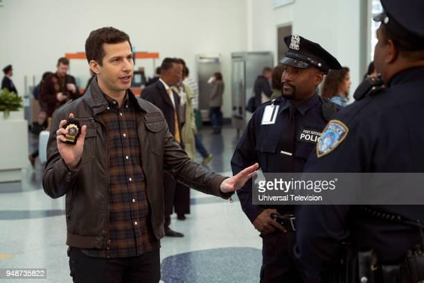 NINE 'DFW' Episode 517 Pictured Andy Samberg as Jake Peralta