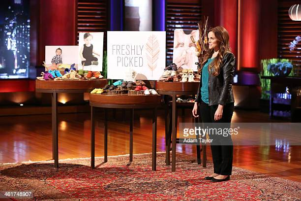 TANK 'Episode 518' When Mark Cuban hears how a Mom from Provo UT funded her idea to design stylish baby shoes he proclaims that hers is the best...