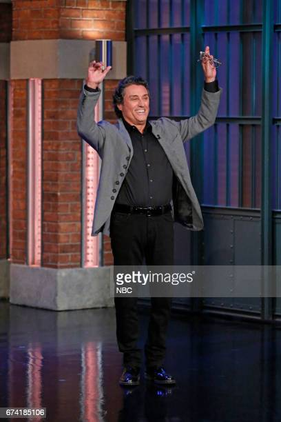 Actor Ian McShane arrives on April 27 2017