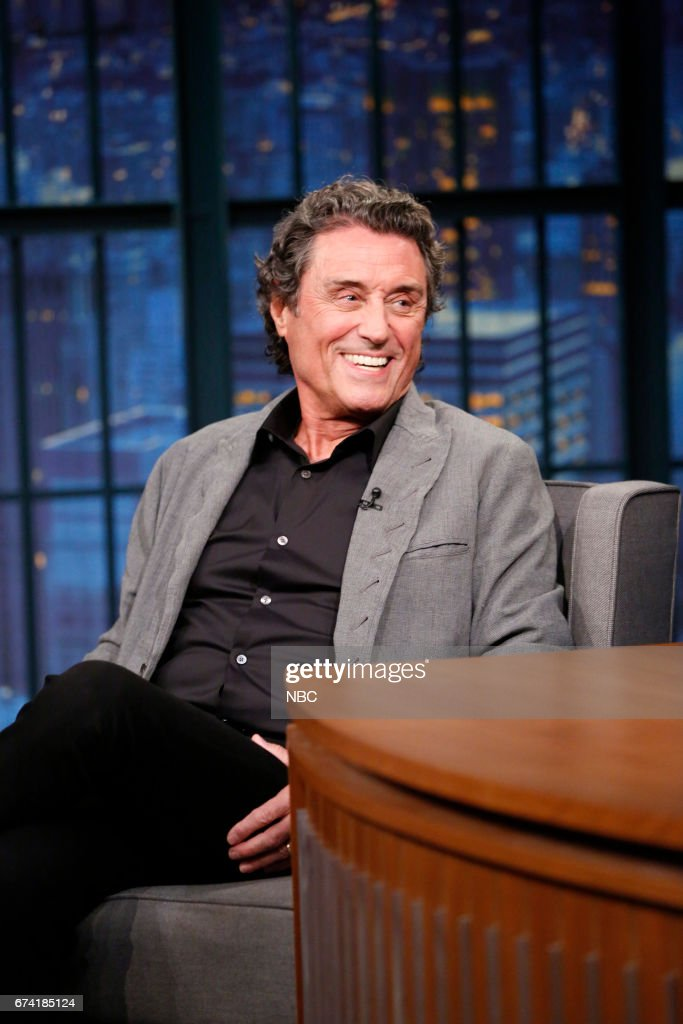 """NBC's """"Late Night With Seth Meyers"""" With Guests Sen. Aidy Bryant, Ian McShane, Raelynn"""