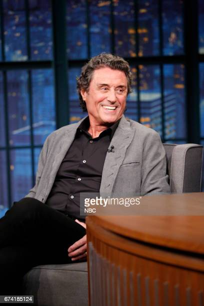 Actor Ian McShane during an interview on April 27 2017