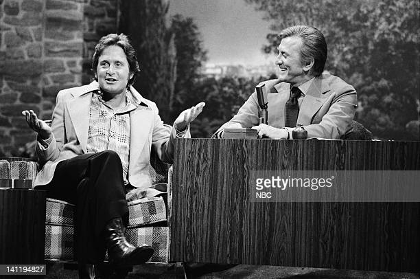 Actor Michael Douglas Guest host/actor Kirk Douglas Photo by Fred Sabine/NBCU Photo Bank