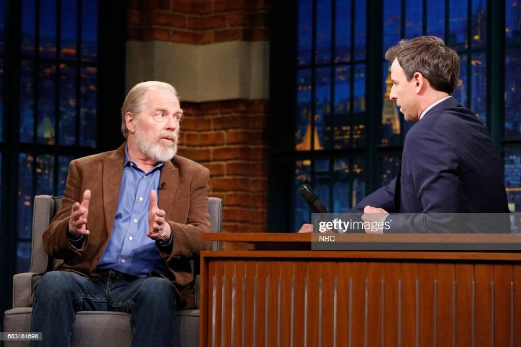 Actor Michael McKean during an interview with host Seth Meyers on May 15, 2017 --