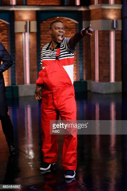 Comedian Tracy Morgan arrives on May 15 2017