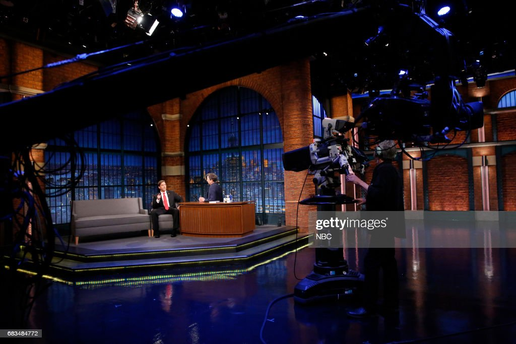 Senator Ben Sasse during an interview with host Seth Meyers on May 15, 2017 --