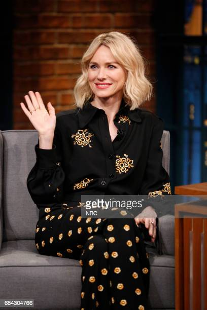 Actress Naomi Watts during an interview on May 17 2017