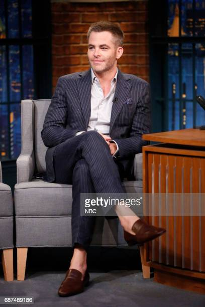 Actor Chris Pine on May 23 2017