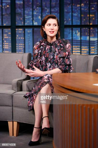 Actress Mary Elizabeth Winstead during an interview on June 7 2017