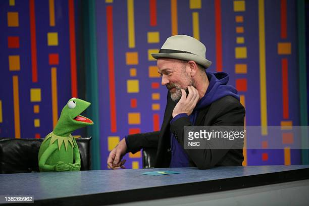 Kermit the Frog and Michael Stipe play Password on November 16 2011