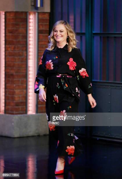 Actresscomedian Amy Poehler arrives on June 21 2017