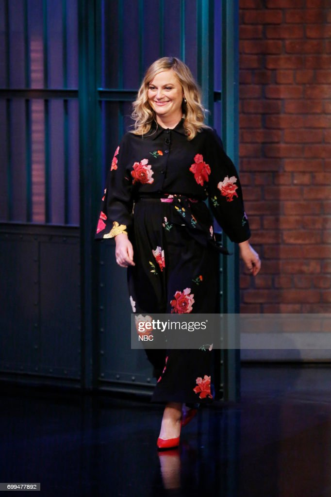 "NBC's ""Late Night With Seth Meyers"" With Guests Amy Poehler, Nicolle Wallace"