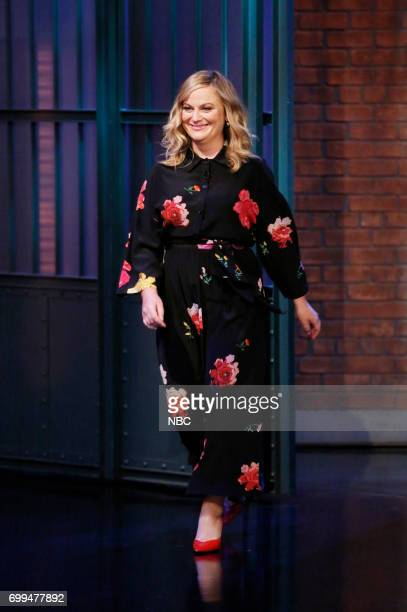 Actresscomedian Amy Poehler arrives on June 21 2017