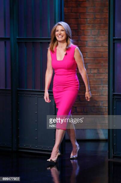 Journalist Nicolle Wallace arrives on June 21 2017