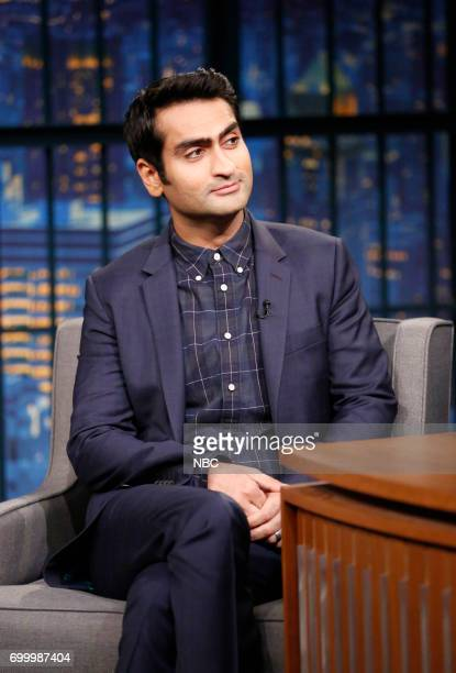 Comedian Kumail Nanjiani during an interview on June 22 2017