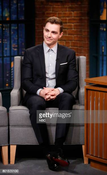 Actor Dave Franco during an interview on June 26 2017