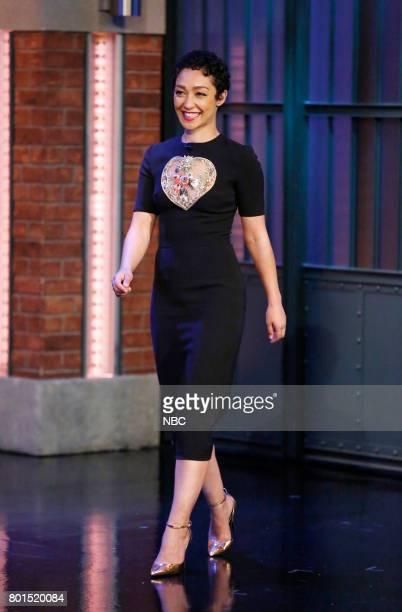 Actress Ruth Negga arrives on June 26 2017