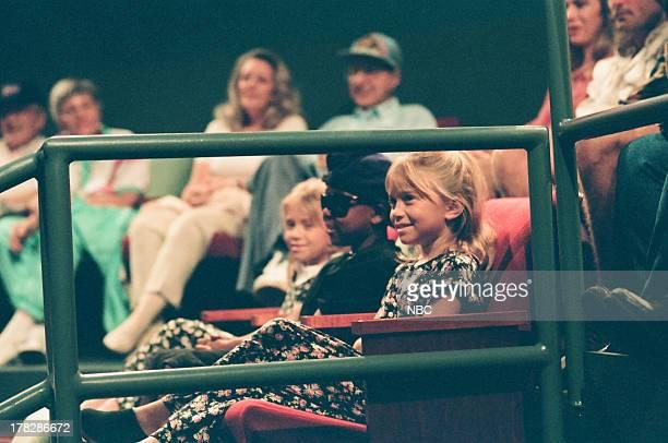 Child stars MaryKate and Ashley Olsen on October 12 1994